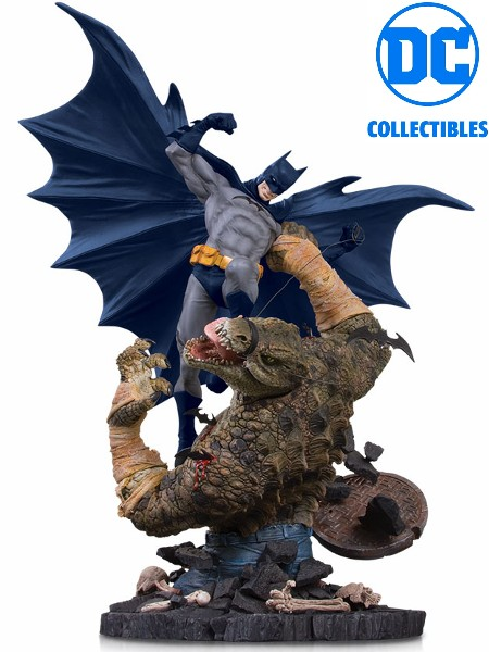 DC Collectibles Batman vs Killer Croc Mini Battle Statue